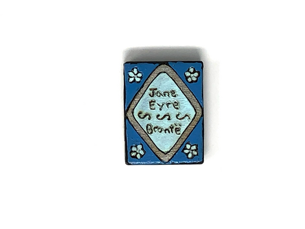jane eyre wood book magnet