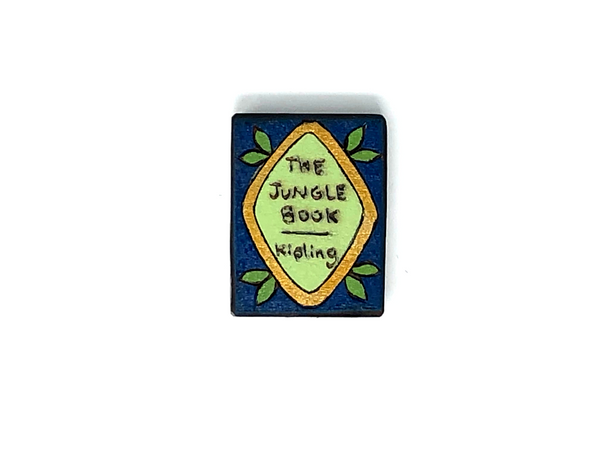 the jungle book wooden book magnet