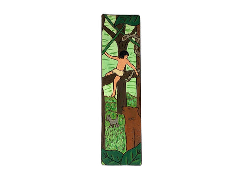 the jungle book wooden bookmark