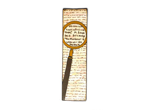 Magnified Mystery Bookmark