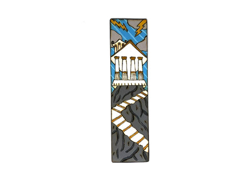 mount olympus wooden bookmark