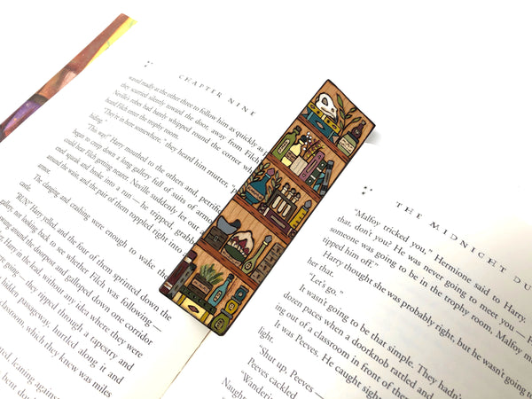 potion shelf bookmark