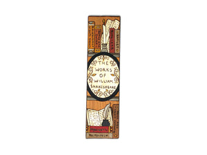 William Shakespeare Collected Works Bookmark