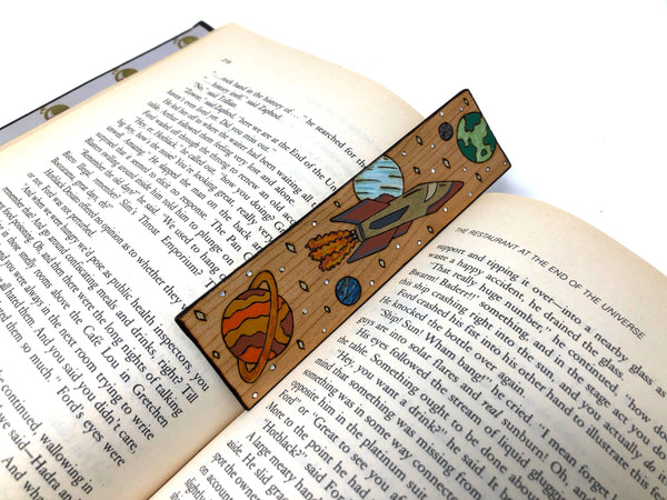 Space Exploration Bookmark