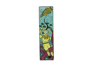 twenty thousand leagues under the sea wooden bookmark