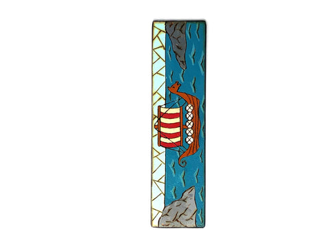viking longboat bookmark