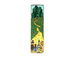 the wonderful wizard of oz wooden bookmark