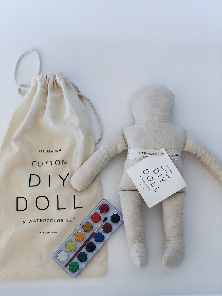 Doll Watercolor Set