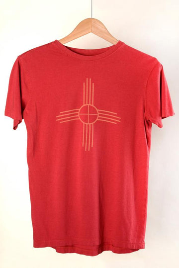 Men's Short Sleeve Zia Red T-Shirt
