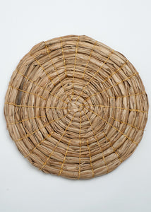 Round Seagrass Natural Mat