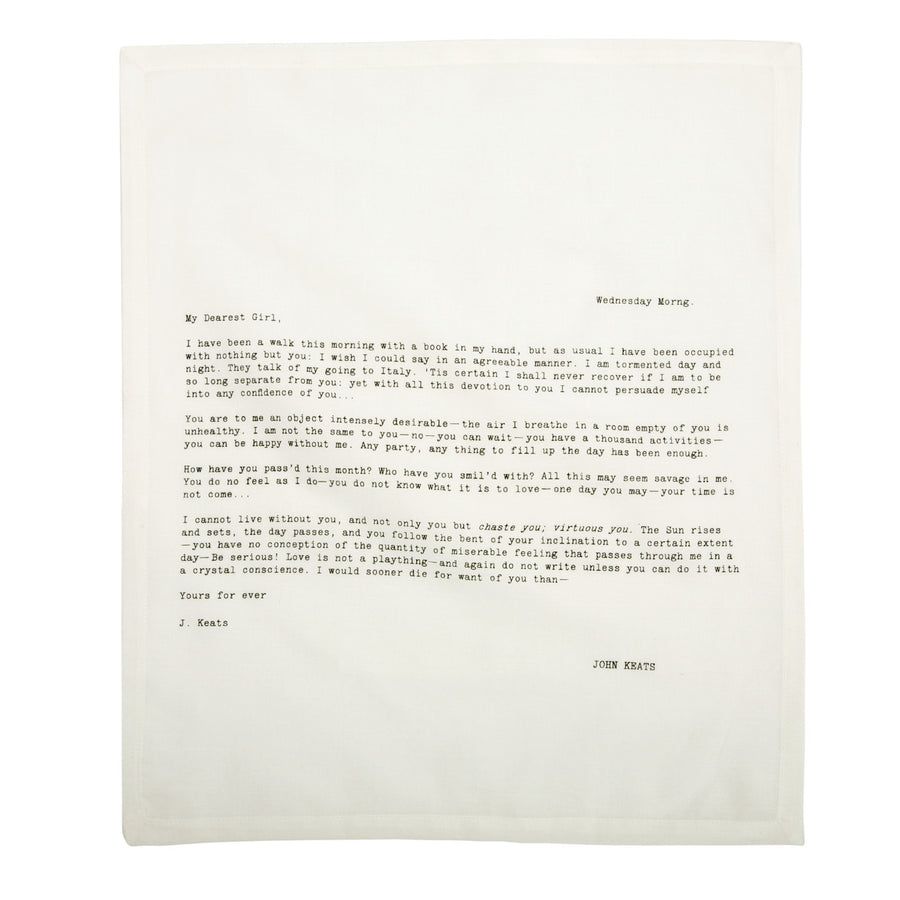 Letter Napkin Love Edition 2