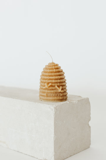 Bee Hive Skep Candle