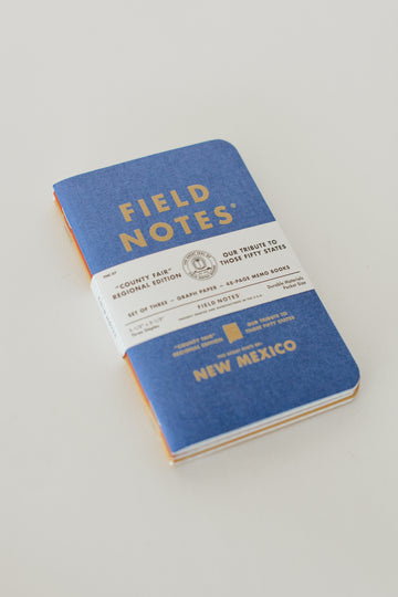 County Fair New Mexico Field Notes