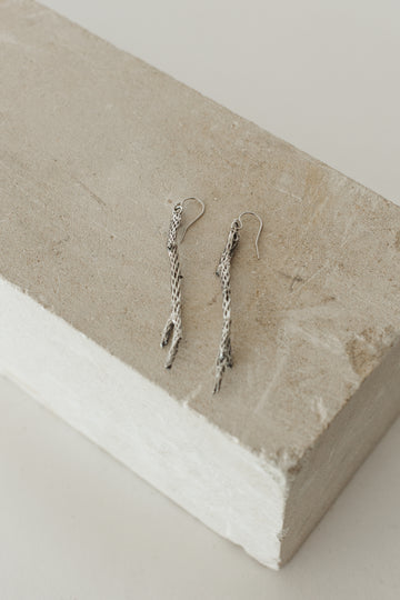 Sterling Cholla Earrings