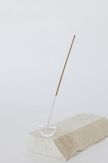Lucite Incense Holder