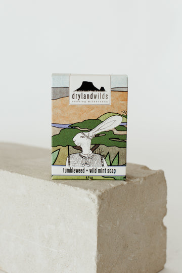 Tumbleweed & Wild Mint Botanical Soap