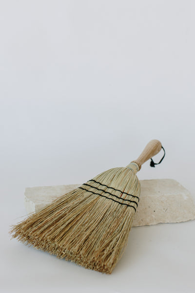 Hand Brush with Wooden Handle
