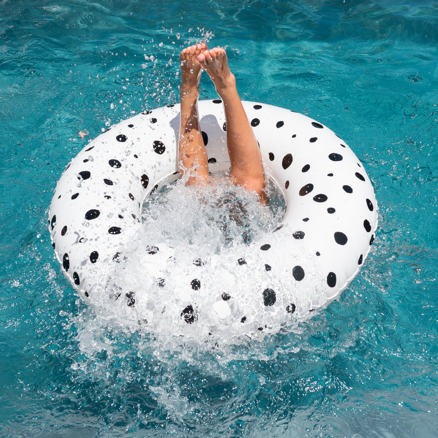 &SUNDAY kids designer pool floats- Bubbles White