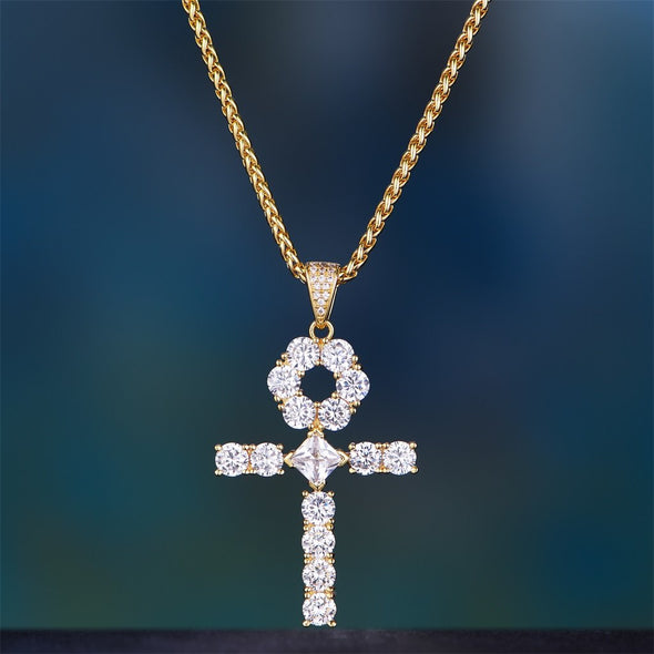 design shinning fashion cross big ankh pendants-Aporro