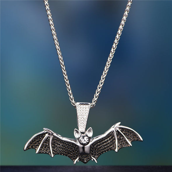 hiphop bat pendant-Aporro
