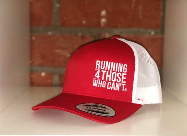 Trucker Hat | Red/White