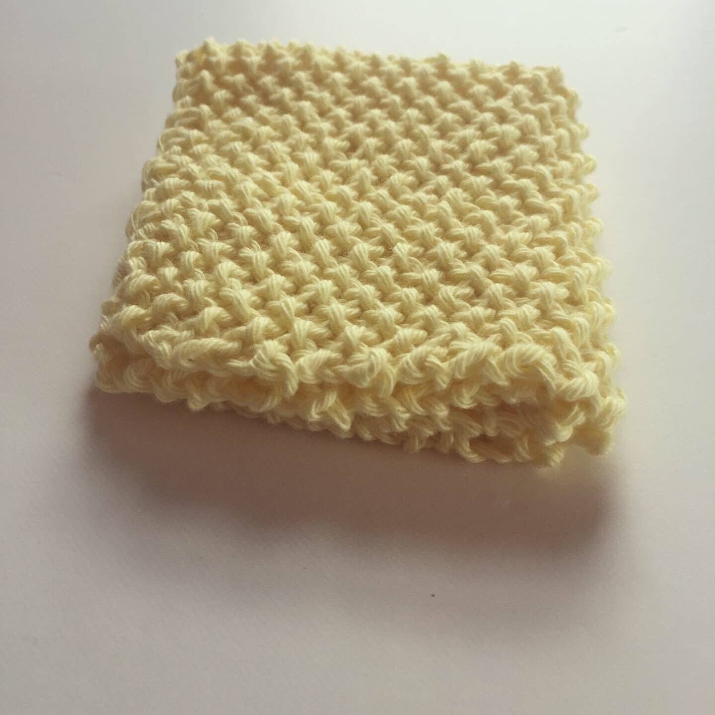 Dishcloth or Face Washer