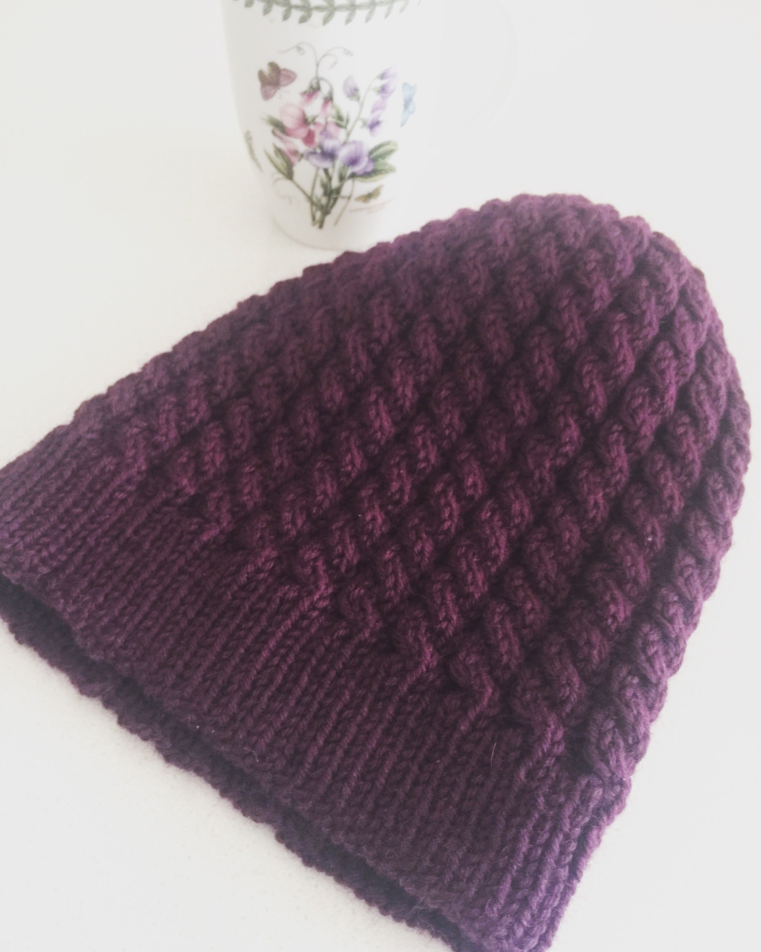 Cabled Handknitted Beanie