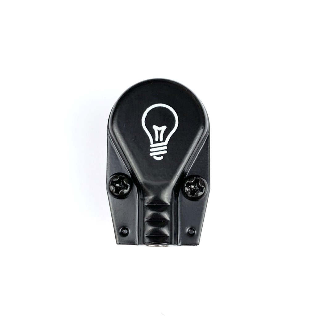 Lightbulb Pancake Plug - TRS Right Angle