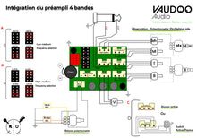 Vaudoo Audio 4 Band Preamp