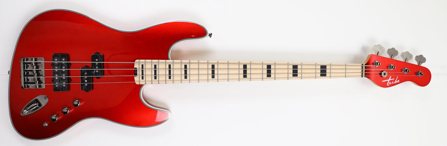 Tribe SF 4 Red Passion - Maple Fretboard