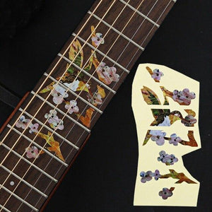 BassGears 10 Inlay Decals Fretboard Sticker