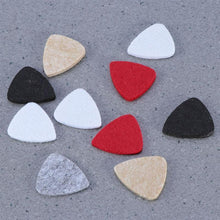 Load image into Gallery viewer, BassGears 10 Pcs Assorted Color Felt Picks