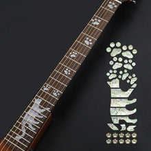 Load image into Gallery viewer, BassGears 11 Inlay Decals Fretboard Sticker
