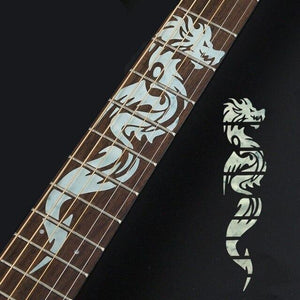BassGears 12 Inlay Decals Fretboard Sticker