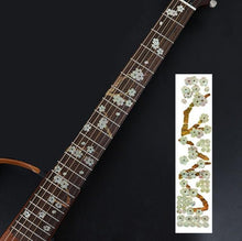 Load image into Gallery viewer, BassGears 13 Inlay Decals Fretboard Sticker
