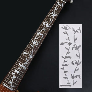BassGears 2 Inlay Decals Fretboard Sticker