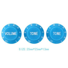 Load image into Gallery viewer, BassGears 3pcs Tone Volume Control Knobs