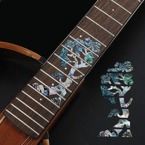 BassGears 4 Inlay Decals Fretboard Sticker