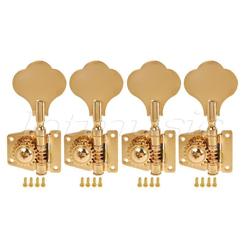 BassGears 4 Strings Bass Guitar Gold Tuners
