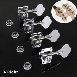 BassGears 4pcs Right Vintage Steel Bass String Tuners