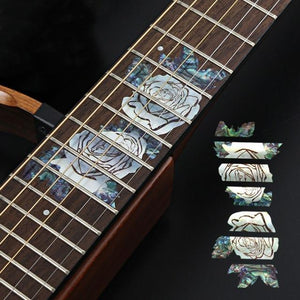 BassGears 5 Inlay Decals Fretboard Sticker