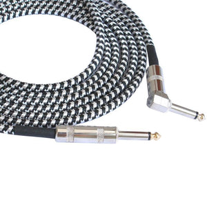 BassGears 6.5mm Jack Audio Cable Professional Noise Free 3 Meters/10ft