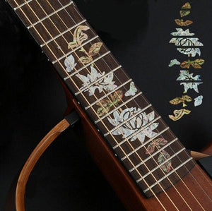 BassGears 7 Inlay Decals Fretboard Sticker