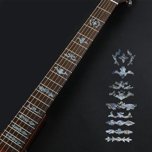 BassGears 9 Inlay Decals Fretboard Sticker