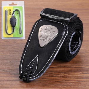 BassGears Black 02  Soldier Strap Leather