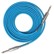 Load image into Gallery viewer, BassGears Blue 6.5mm Jack Audio Cable Professional Noise Free 3 Meters/10ft