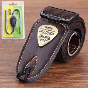 BassGears Brown 02  Soldier Strap Leather