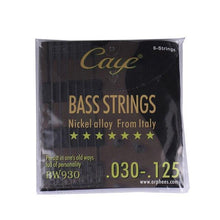 Load image into Gallery viewer, BassGears BW930  6 strings Caye Bass Guitar Strings