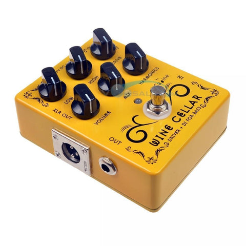 Caline CP-60 Driver+DI For Bass Guitar Pedal Effect 9V - BassGears