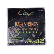Load image into Gallery viewer, BassGears Caye Bass Guitar Strings